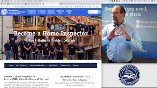 5-Day Class to Become a Home Inspector