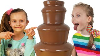 Chocolate Fountain Challenge by Polina