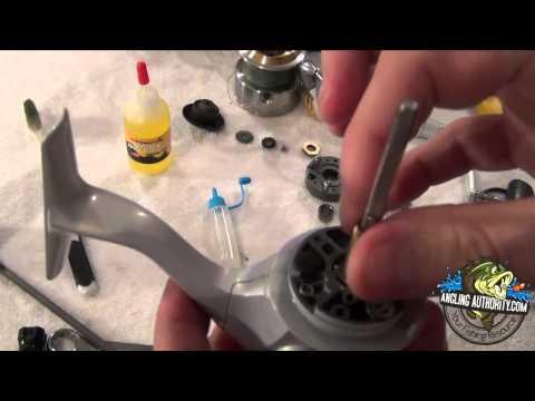 Shimano Spinning Reel Maintenance Tutorial