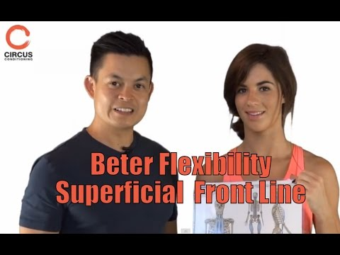 Improve your Yoga flexibility - Superficial front line - 동영상