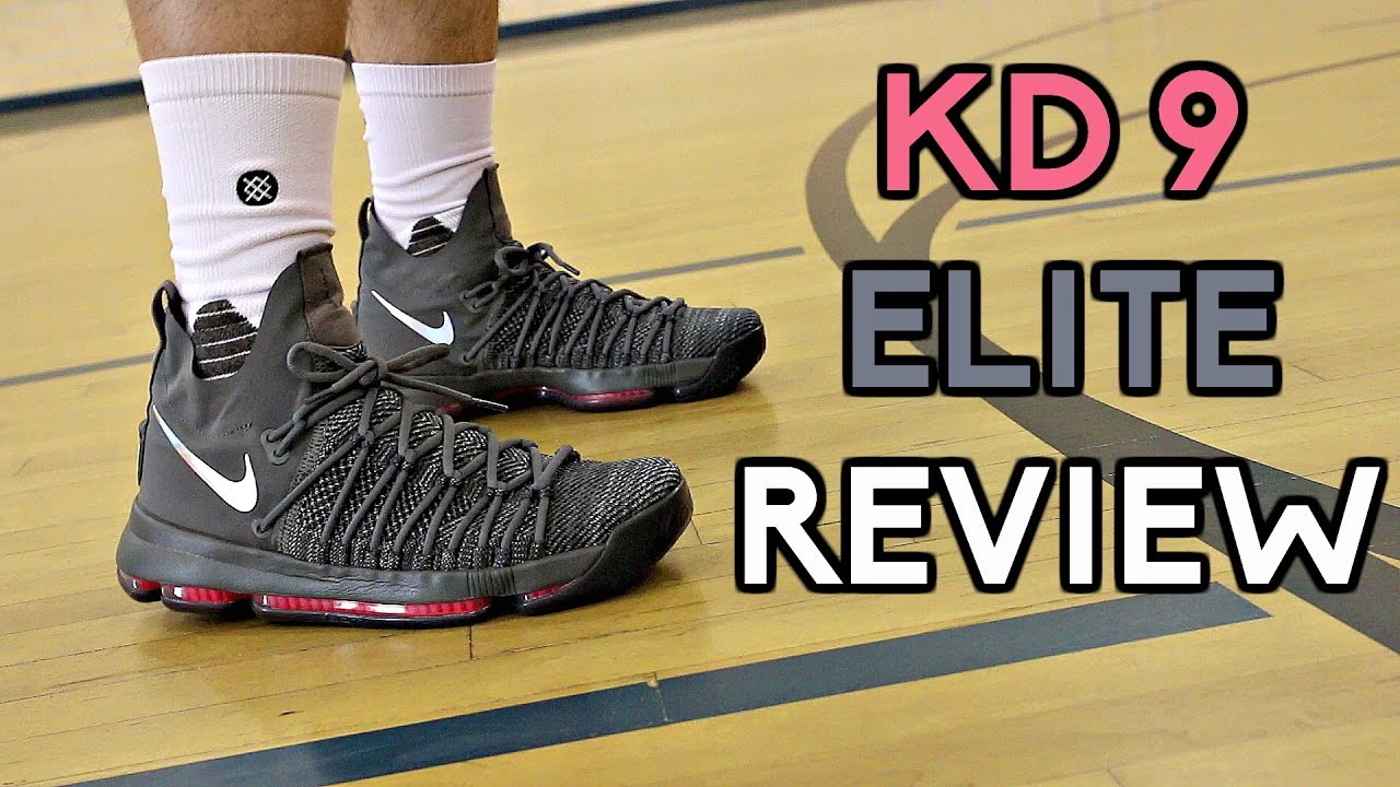 cc66c29eb1c8 Nike KD 9 Elite Performance Review! - YouTube
