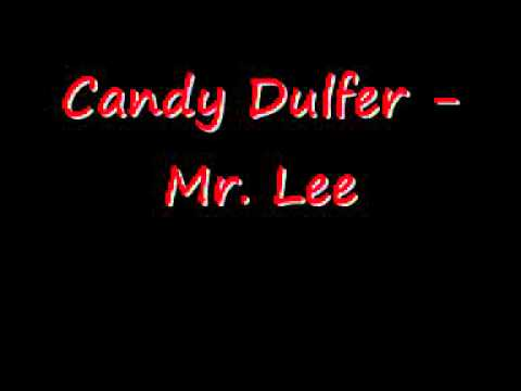 Candy Dulfer - Mr. Lee