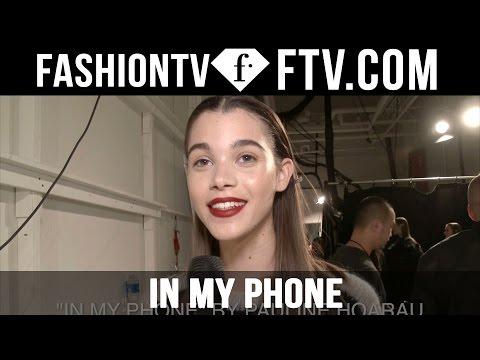 Model Talks F/W 16-17 In My Phone   FashionTV