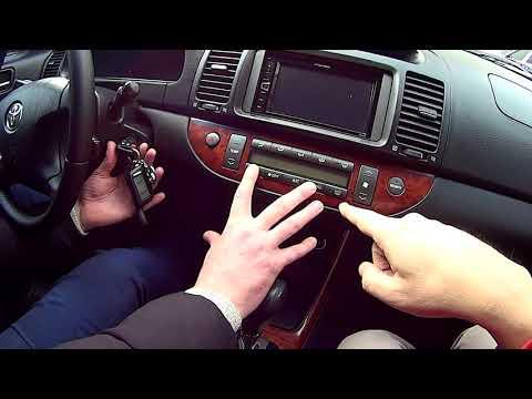 Cамодиагностика Тойота Камри 30 на ошибки и климат контроль