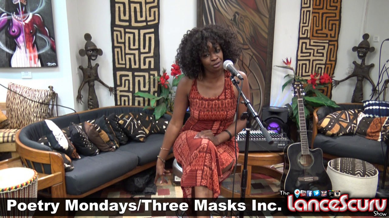 POETIC MONDAYS AT THREE MASKS INC. #1 - September 17, 2018