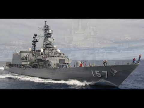 日本海軍 朝霧型護衛艦 剪輯 japan Navy あさぎり型護衛艦