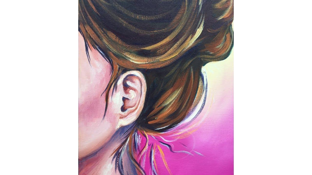 paint ear step