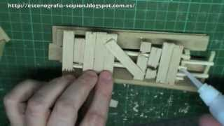 COMO HACER ESCENOGRAFÍA PARA WARGAMES, VALLAS 1/ How to make scenery for wargames