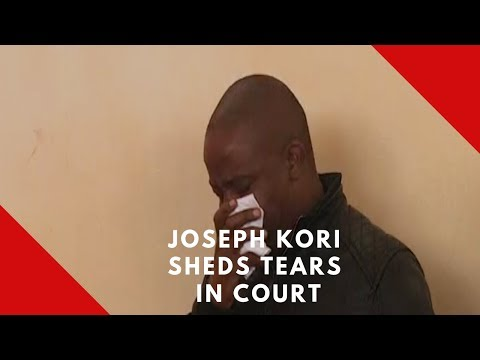 Kori weeps in court as he faces charges of colluding with mistress to kill wife