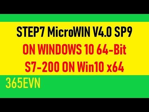 Install Step7 MicroWIN V4.0 SP9 On Windows 10 64-bit | S7 200 On Win 10 X64