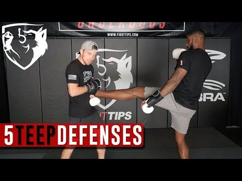 5 Ways to Defend Against the Teep (Front Push Kick)