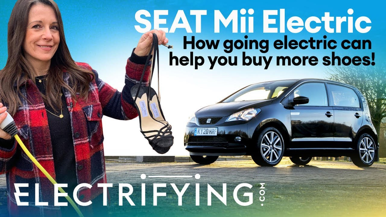 SEAT Mii Electric 2021 review: How going electric can help you buy more shoes! / Electrifying