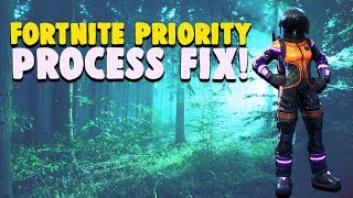 Fortnite. How to change cpu priority. Working.