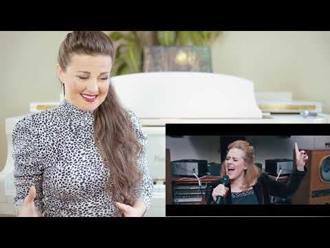 Vocal Coach Reacts to Adele - When We Were Young  at The Church Studios