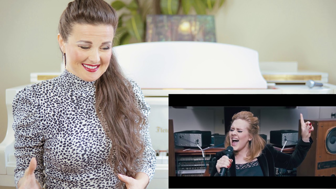 Vocal Coach Reacts to Adele - When We Were Young (Live at The Church Studios)