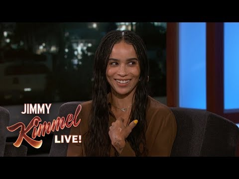 Ellen K Weekend Show - Zoe Kravitz On Her Relationship With Prince