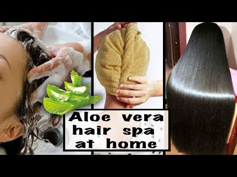 Hair Spa Salon Style at Home with 3 easy steps | Silky, Shiny, Smooth Hair