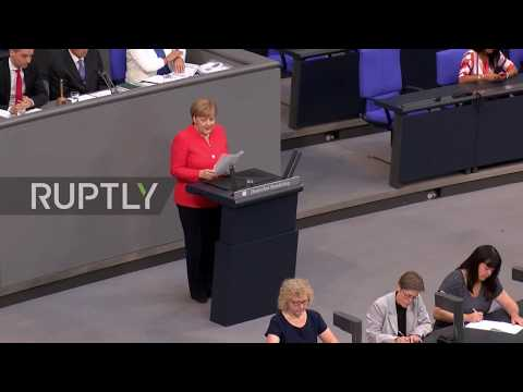 Germany: Merkel defends CDU-CSU migration deal in Bundestag speech