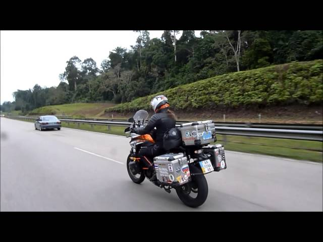 Anna in Malaysia Part 2   Charity Ride in Kuantan, Pahang Travel Video