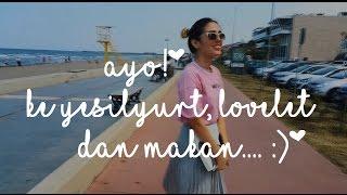 TURKI VLOG | pergi belanja baju di yesilyurt dan lovelet di samsun + memasak falafel | #halosemuanya 2017 Video