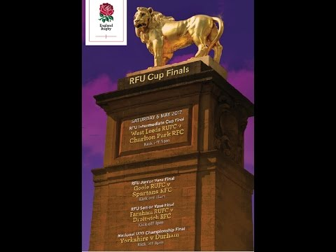 RFU Cup Finals Day 2017