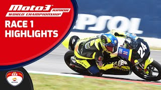 Highlights Race 1 Moto3™ Junior World Championship Barcelona-Catalunya