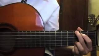 Ngôi nhà hoa hồng guitar - guitar ( tham khảo)