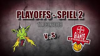 Playoffs – Spiel 2   17.03.2018   Artland Dragons gegen Leverkusen Giants