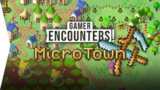 Pixel Art City-building! ► MicroTown - The Settlers but more City-builder! - [Gamer Encounters]