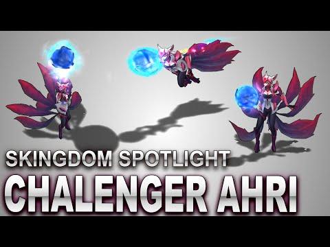 Challenger Ahri Skin Spotlight | SKingdom - League of Legends