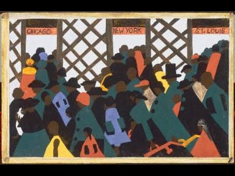 Jacob Lawrence brief biography and artwork. Great for kids and esl