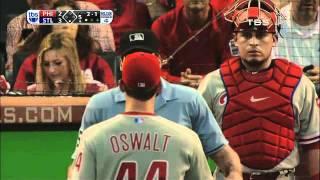 Squirrel at MLB Playoff Game