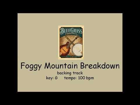Foggy Mountain Breakdown - bluegrass backing track