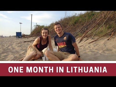 Our Month in Klaipeda, Lithuania