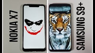 Nokia X7 vs Samsung S9 Plus Speed test/Gaming comparison PUBG Nokia 8.1 plus