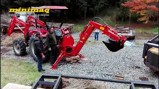 Aguilón / Brazo Retroexcavador para Tractor