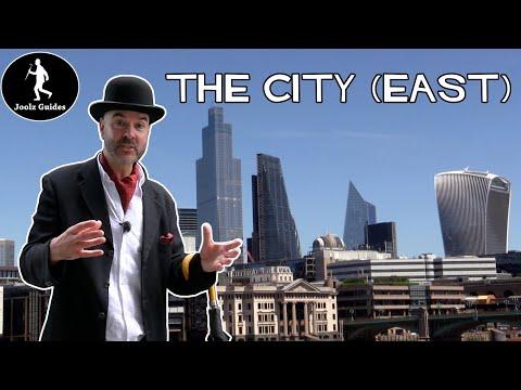 Most Excellent London Walking Tour : The City - Part 1 East
