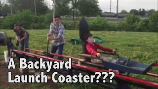 Backyard Launch Coaster