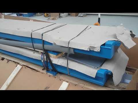 Монтаж ножничного подъемника под сход-развал RAV 640.2 часть 2 Азбука Автосервиса в Ульяновске