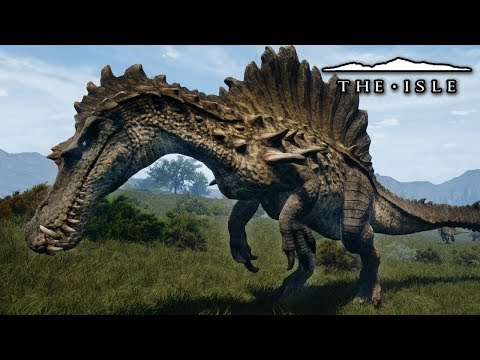 The Hypo Spinosaurus Approaches! | Walking With The Isle - The Isle