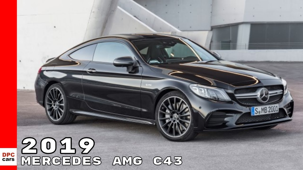 2019 mercedes amg c43 4matic coupe convertible youtube. Black Bedroom Furniture Sets. Home Design Ideas
