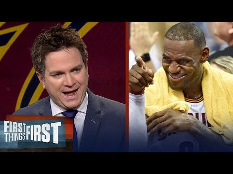 Chris Mannix on LeBron's Cavs surpassing the Boston Celtics as best in the East | FIRST THINGS FIRST
