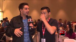 Interview of Mike Ginn from Power Rangers RPM at Power Morphicon Convention