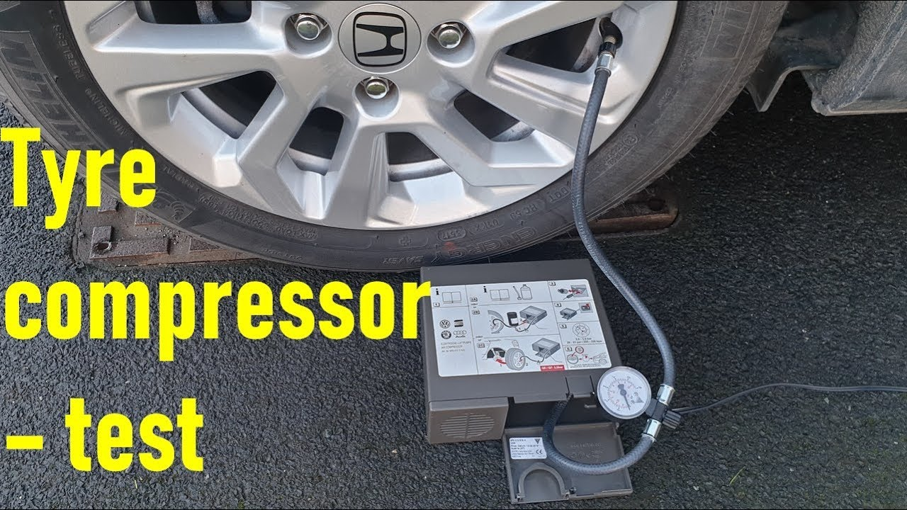 2015 Audi Q5 >> Test tyre compressor 8P12615A00 - YouTube