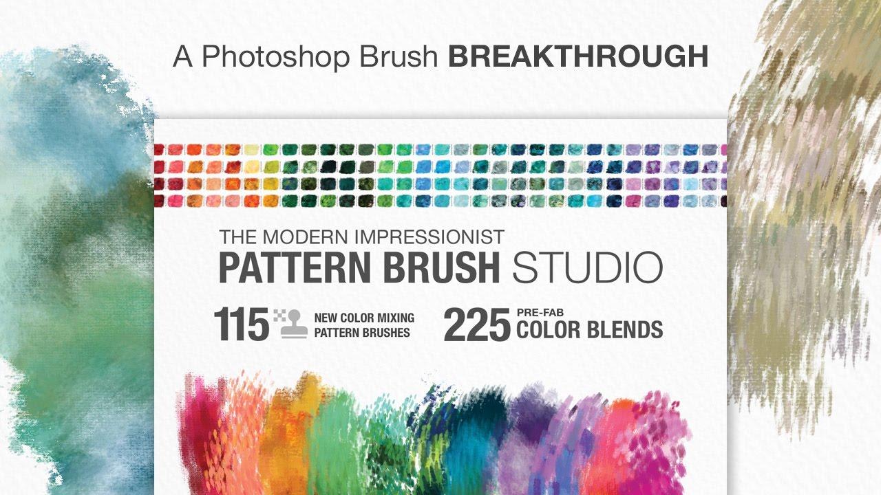 Modern Impressionists Pattern Brush Studio: A Photoshop Breakthrough