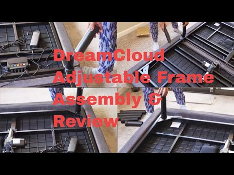 DreamCloud Adjustable Frame Review and Assembly