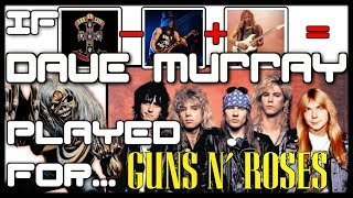 what if dave murray (iron maiden) played guitar for guns n roses?