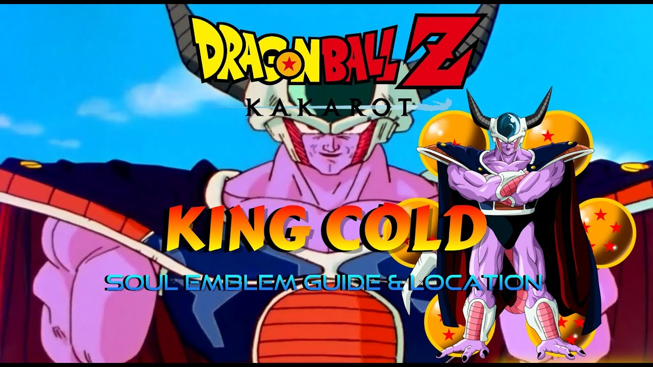 Dragon Ball Z Kakarot How To Get King Cold Soul Emblem Guide Location Youtube
