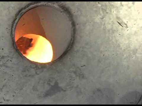 Waste Oil Burning Test