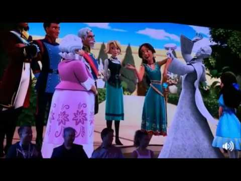 """""""Got it down"""" Elena of Avalor Realm of the Jaquins - D23 Expo"""